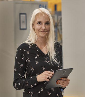 Christiane Bürger - Fertigungssteuerung